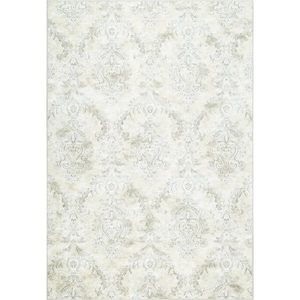 Collingwood Beige/Taupe Area Rug by Ophelia & Co.