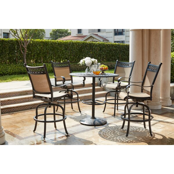Wabon 5 Piece Bar Height Dining Set by Darby Home Co