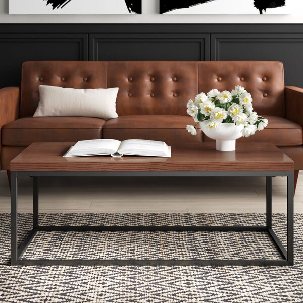 Mcfadden Coffee Table with Tray Top by Mercury Row