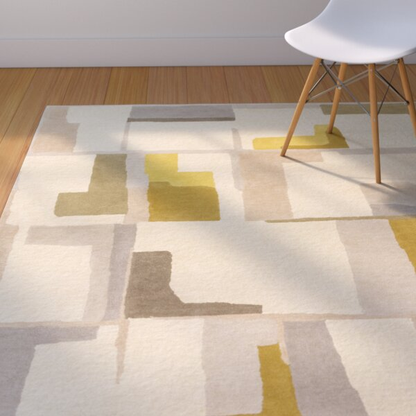 Burbank Hand-Tufted Geometric Area Rug by Langley Street