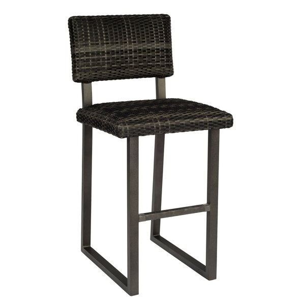 Canaveral Harper 30'' Patio Bar Stool by Woodard