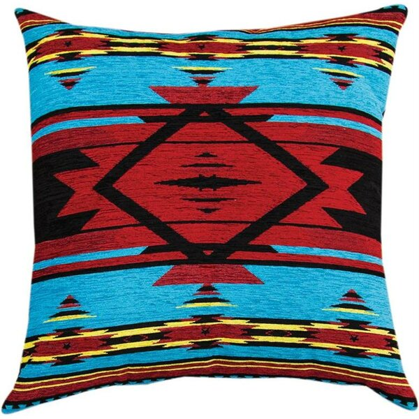 Flame Bright Throw Pillow by Manual Woodworkers & Weavers