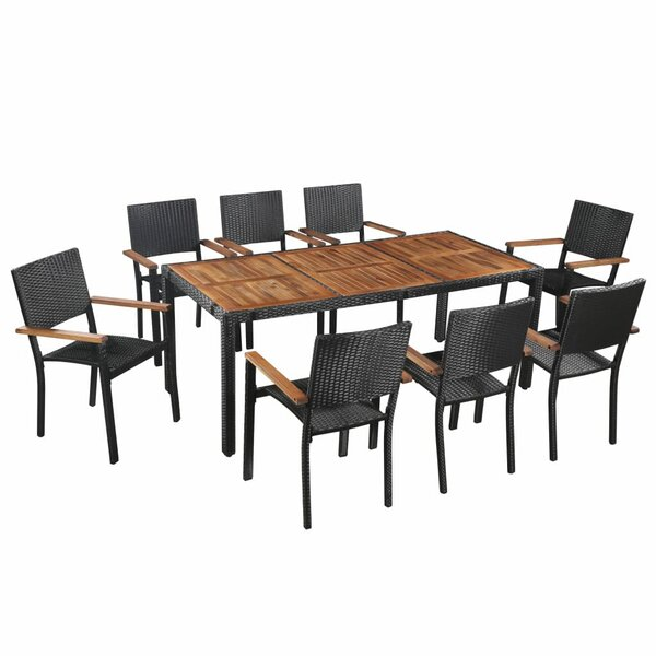Forrester 9 Piece Dining Set by Sol 72 Outdoor