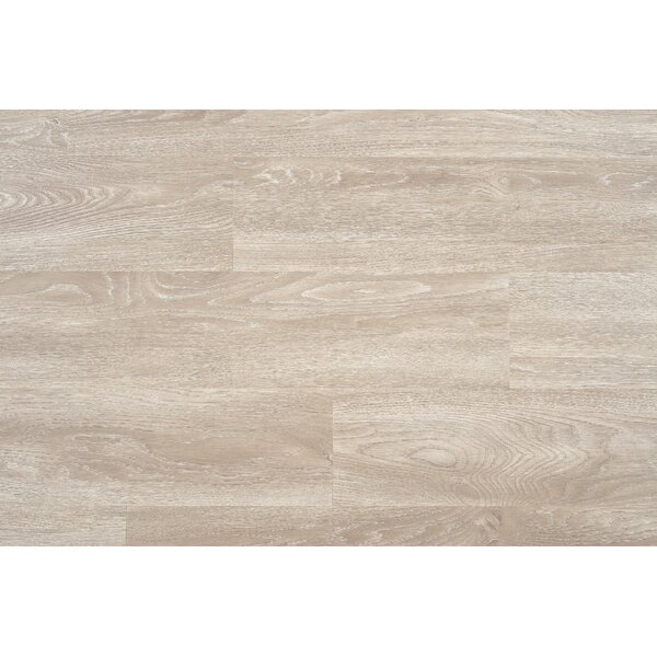 Bruno 7 x 48 x 12mm Laminate Flooring in Ice by Serradon