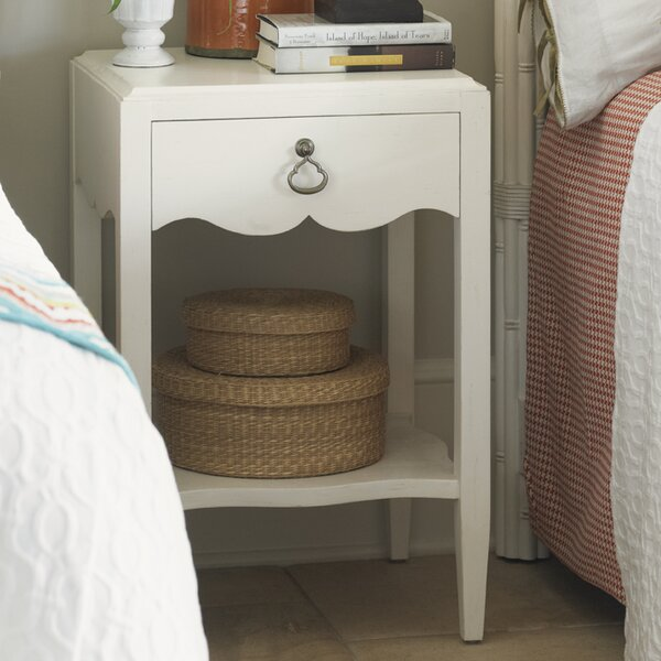 Ivory Key 1 Drawer Nightstand by Tommy Bahama Home Tommy Bahama Home