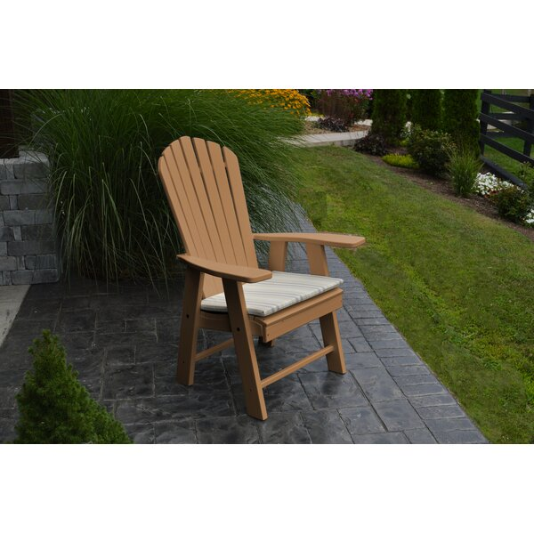 Upright Plastic Adirondack Chair by A&L Furniture
