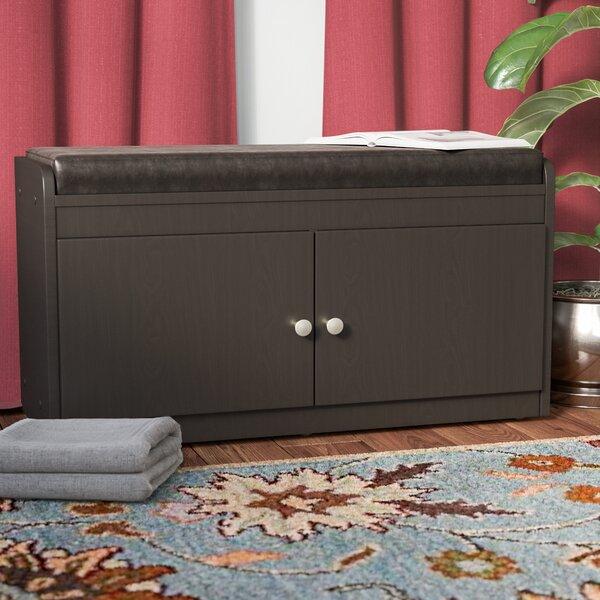Ingalls Modern Wood Storage Bench by Winston Porter