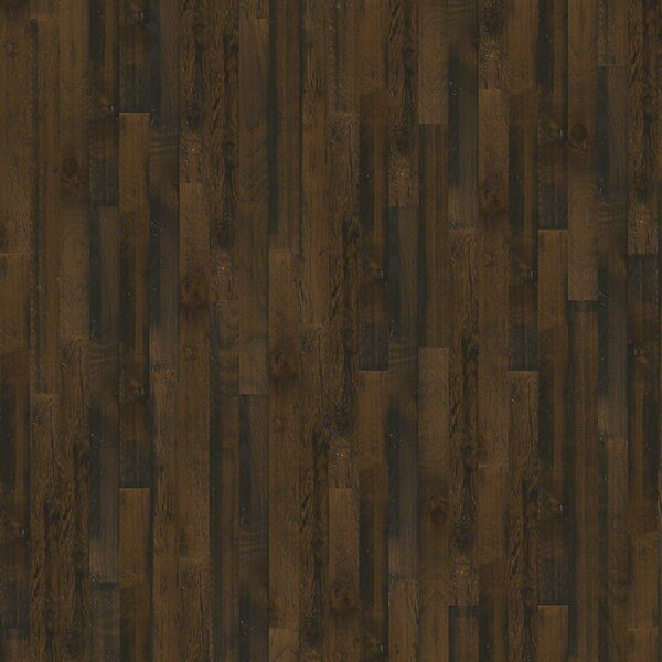 Melrose Hickory 5 Engineered Hickory Hardwood Flooring in Bayou Brown by Wildon Home ®