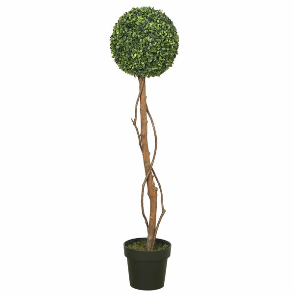 Artificial Floor Boxwood Topiary by Gracie Oaks