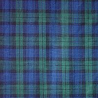 Watch Plaid Bed Skirt / Dust Ruffle by Patch Magic