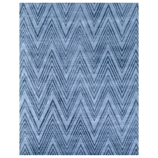 Reflections Hand-Woven Blue/Denim Area Rug by Exquisite Rugs