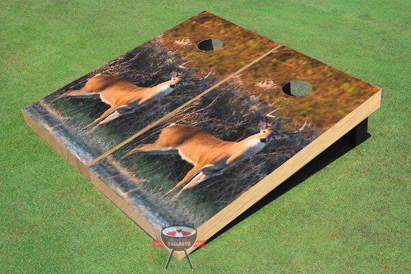Deer Cornhole Board (Set of 2) by All American Tailgate