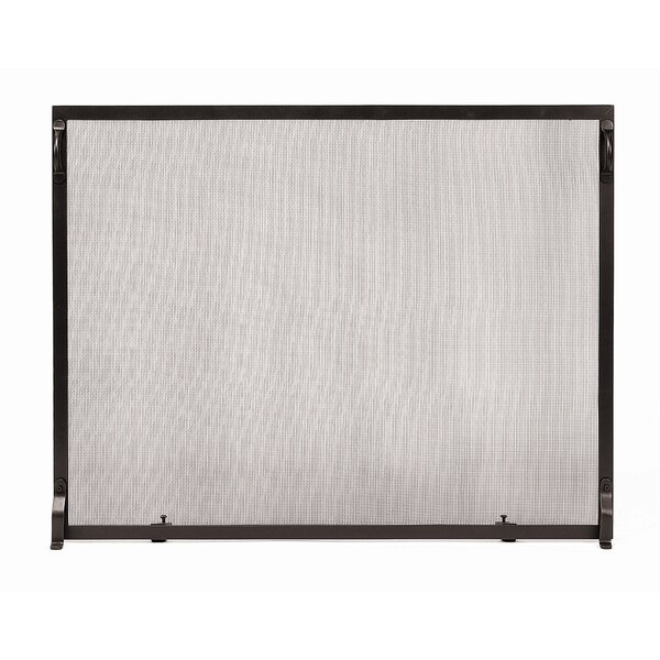 Kirstie Colonial Single Panel Iron Fireplace Screen By Red Barrel Studio