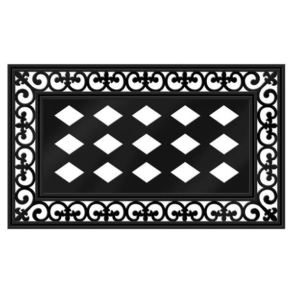 Satterwhite Scroll Doormat by Wrought Studio