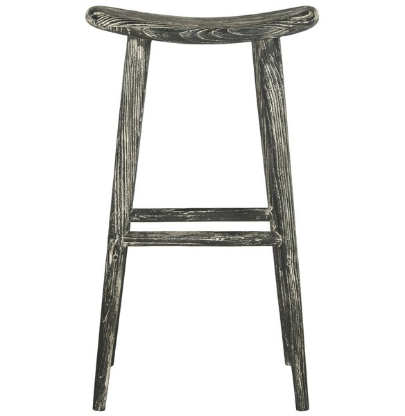 Goulette Wood 30.7 Bar Stool by Laurel Foundry Modern Farmhouse
