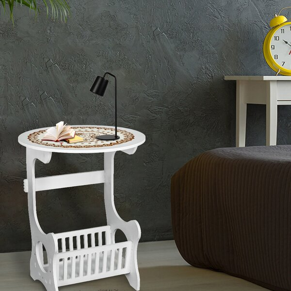 Bolesworth C End Table With Storage By Rosecliff Heights