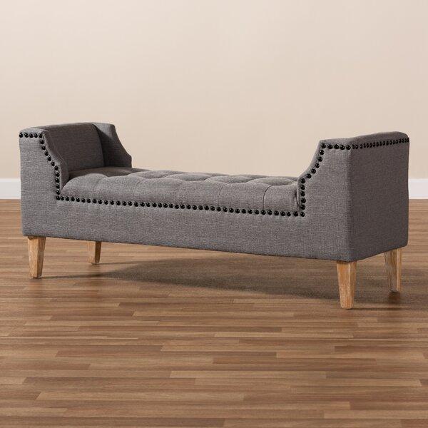 Harpersville Upholstered Bench By George Oliver Find