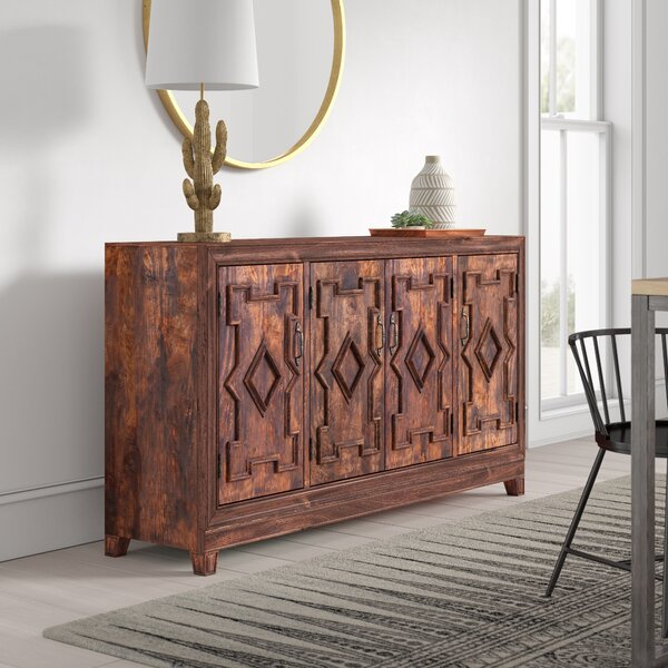 Carole 4 Door Sideboard by Mistana Mistana