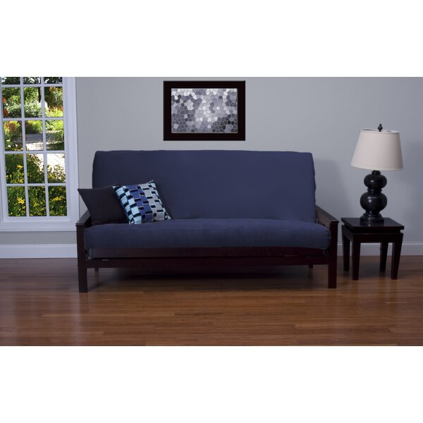 Arterbury Box Cushion Futon Slipcover by Darby Home Co