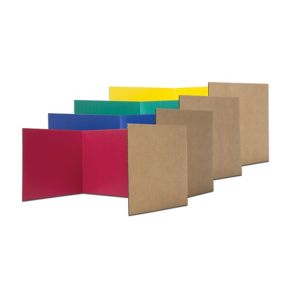 Privacy 3 Panel Room Divider, 18 H x 48 W (Set of 24) by Flipside Products