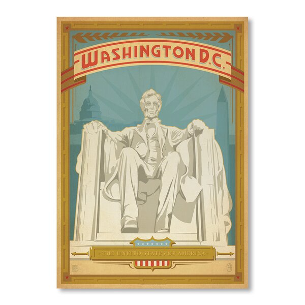 Washington DC Vintage Advertisement by East Urban Home