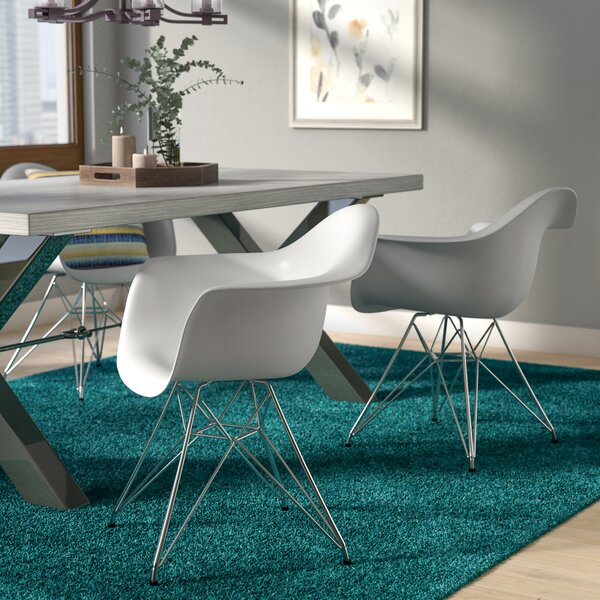 Sales Chamorro Arm Chair In White (Set Of 2)