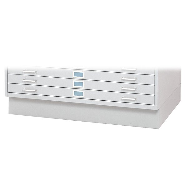 Quick Ship Flat File Base by Safco Products Company