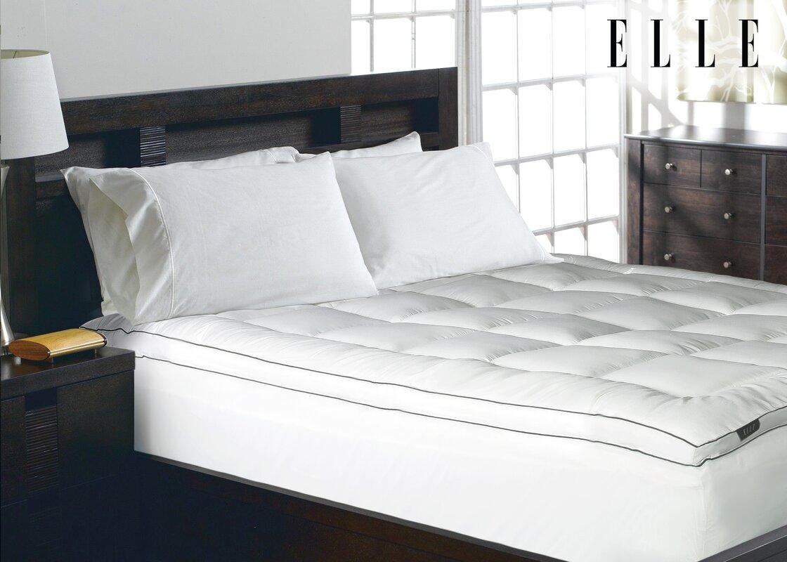 Highest thread count splurge on down martex trellis for Elle decoration bed linen