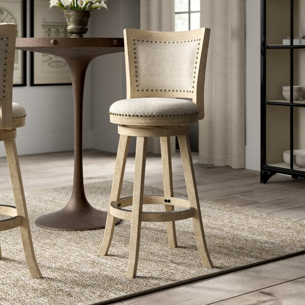 Joanne 29 Round Swivel Bar Stool by Greyleigh