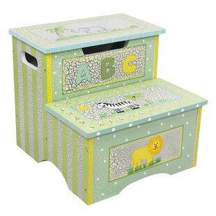 Step Stool with Storage by Fantasy Fields