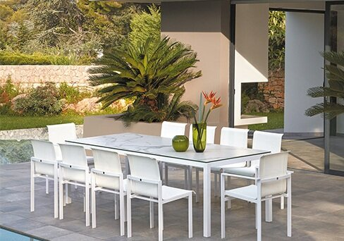 Santistevan 11 Piece Dining Set by Orren Ellis