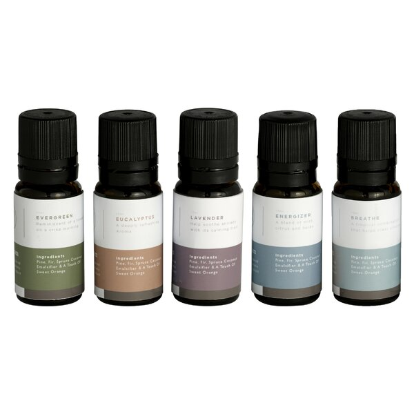 MrSteam Essential Oils (Set of 5) by Mr. Steam