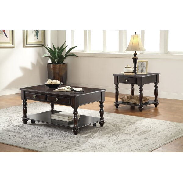 Joseph End Table with Storage by Darby Home Co