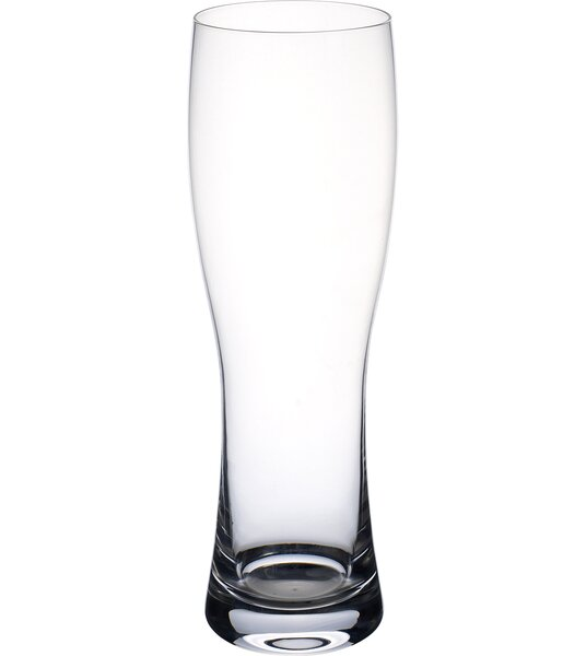 Purismo Beer Wheat Pilsner Glass (Set of 4) by Villeroy & Boch