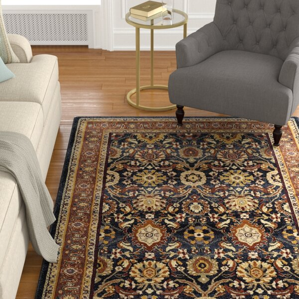 Harrisville Blue Slate Area Rug by Darby Home Co