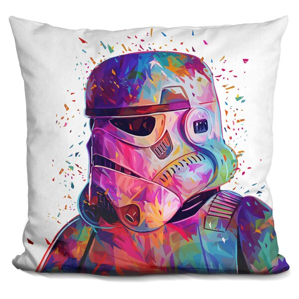 Soldier Throw Pillow by LiLiPi