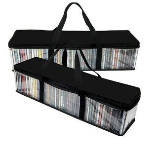 Multimedia CD Storage Bag Set of 2
