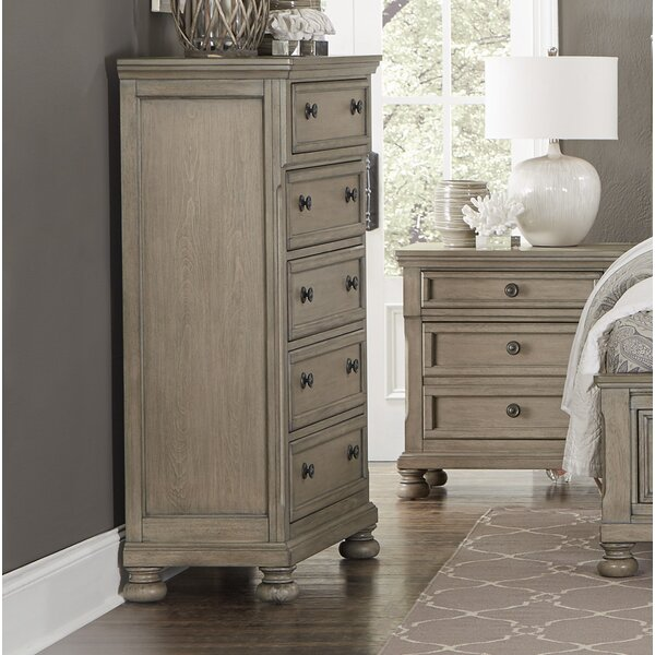 Carleton 5 Drawer Chest by Canora Grey