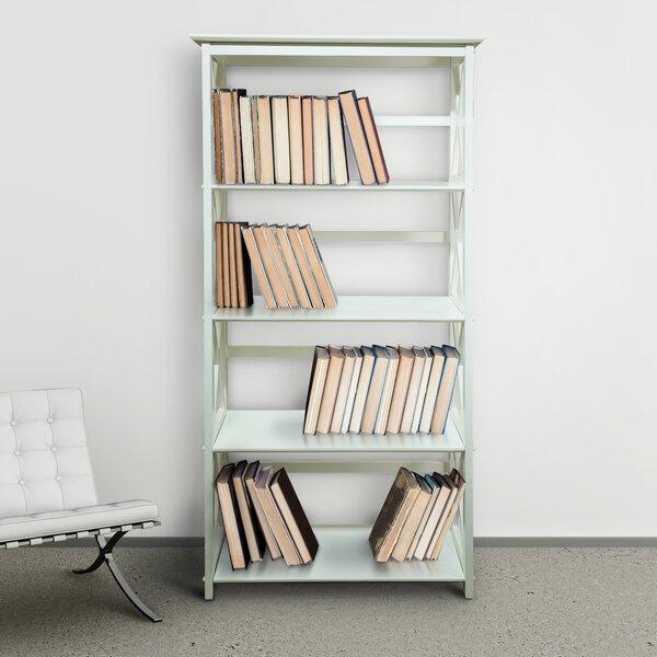 Kallie 5-Shelf Standard Bookcase by Gracie Oaks
