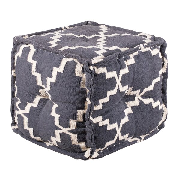 Perreault Tufted Pouf By World Menagerie Best