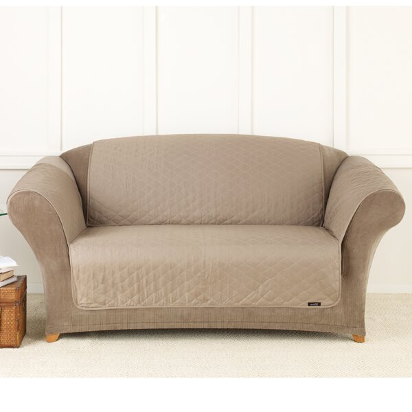 Furniture Friend Box Cushion Loveseat Slipcover by Sure Fit