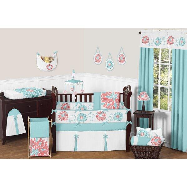 Emma 9 Piece Crib Bedding Set by Sweet Jojo Designs