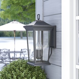 Low priced Christien 3-Light Outdoor Wall Lantern By Darby Home Co