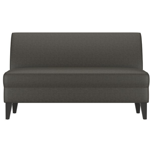 Petterson Armless Loveseat By Ebern Designs