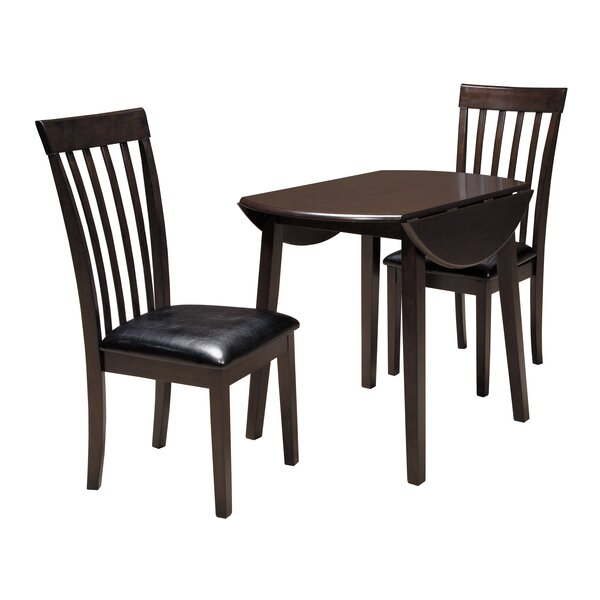 Milton 3 Piece Drop Leaf Dining Set by Andover Mills Andover Mills