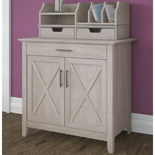 Oridatown Credenza Desk By Beachcrest Home