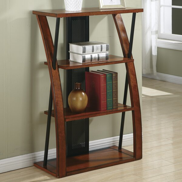 Wild Rose Etagere Bookcase by Red Barrel Studio
