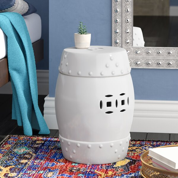 Kelston Ceramic Garden Stool by Willa Arlo Interiors