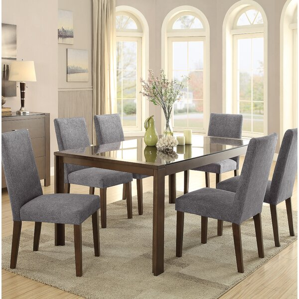 Belvedere 7 Piece Dining Set by Latitude Run