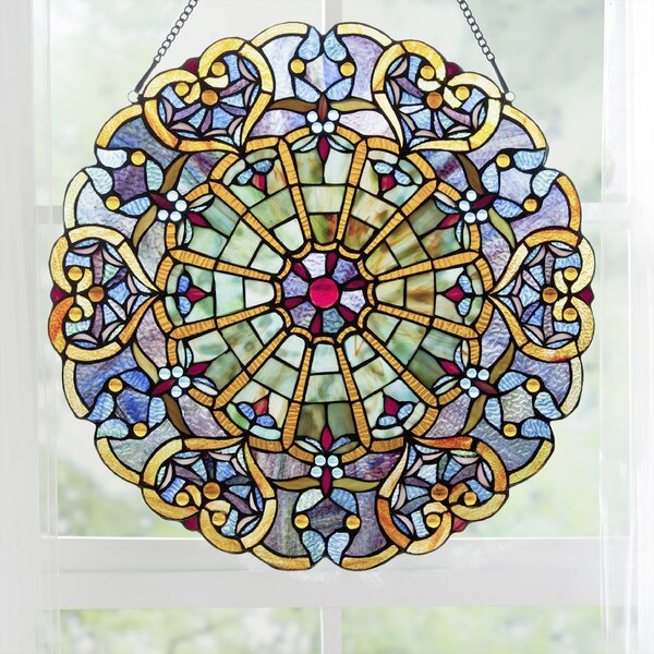 Mayers Webbed Heart Window Panel by August Grove